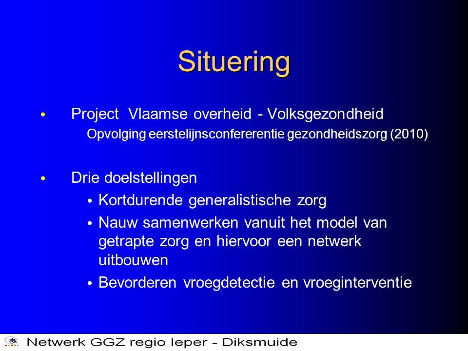 Situering Project Vlaamse overheid - Volksgezondheid