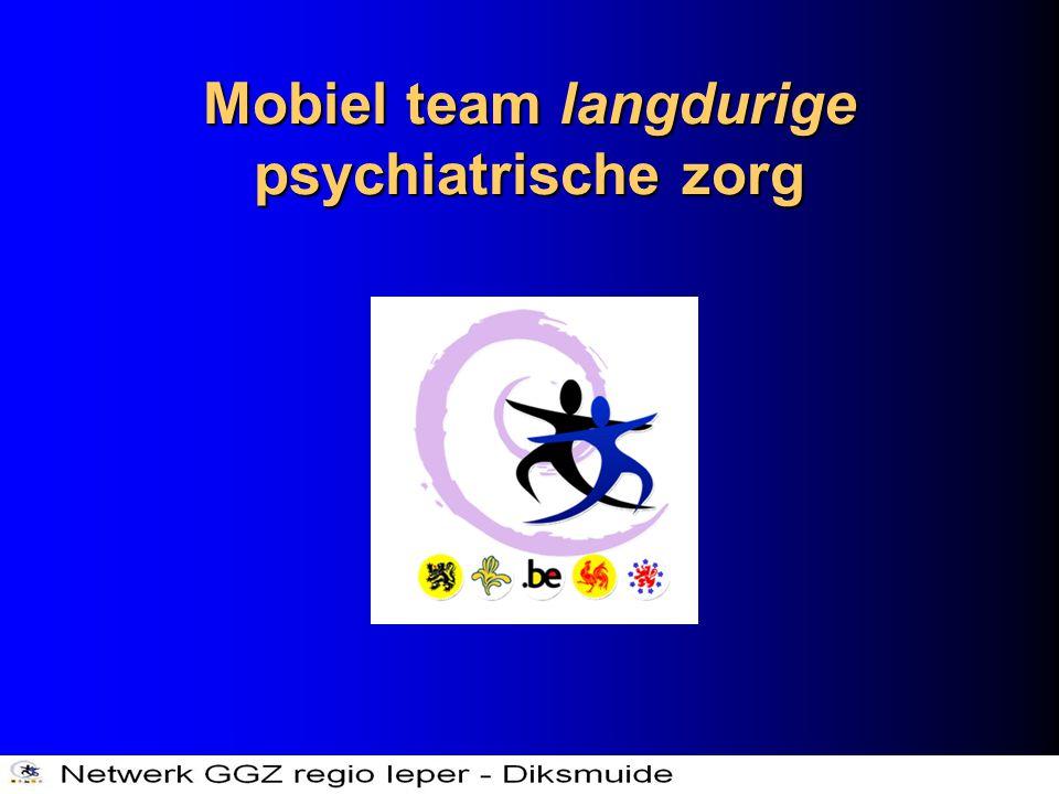 Mobiel team langdurige psychiatrische zorg