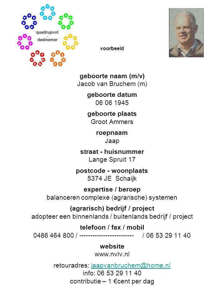 (agrarisch) bedrijf / project