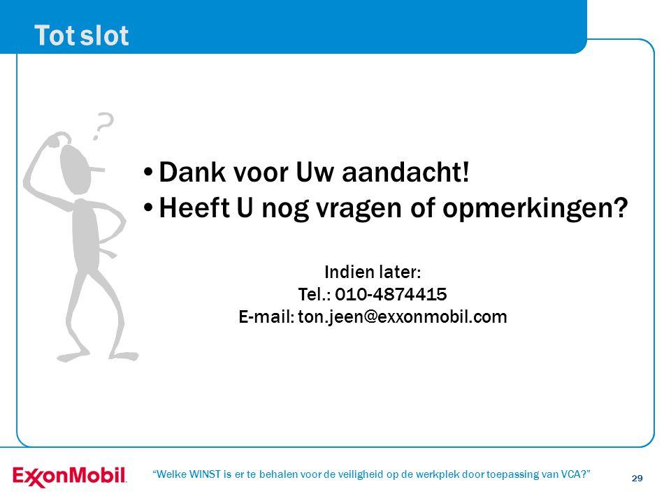 E-mail: ton.jeen@exxonmobil.com