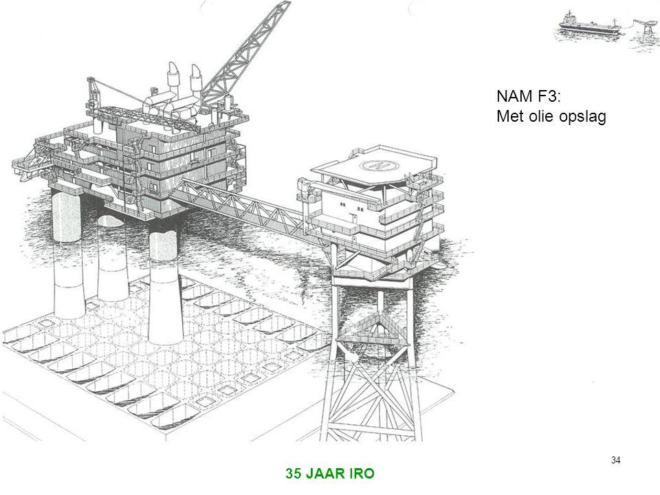 NAM F3: Met olie opslag 35 JAAR IRO