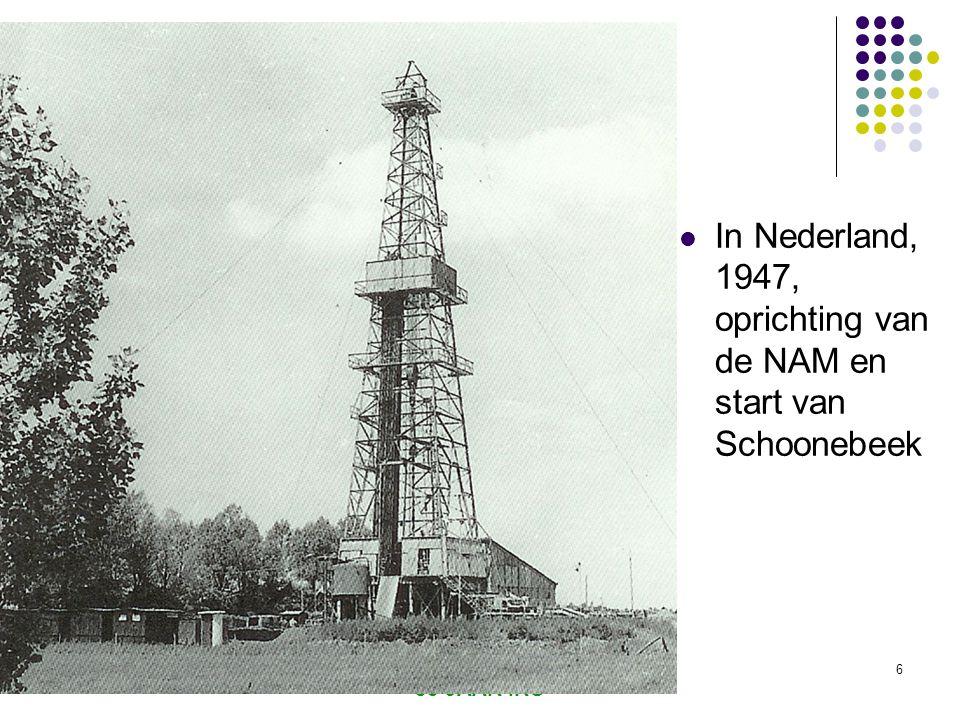 In Nederland, 1947, oprichting van de NAM en start van Schoonebeek
