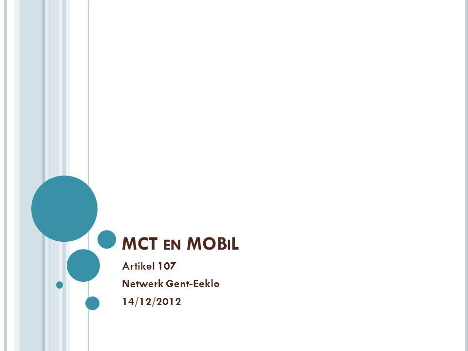 Artikel 107 Netwerk Gent-Eeklo 14/12/2012
