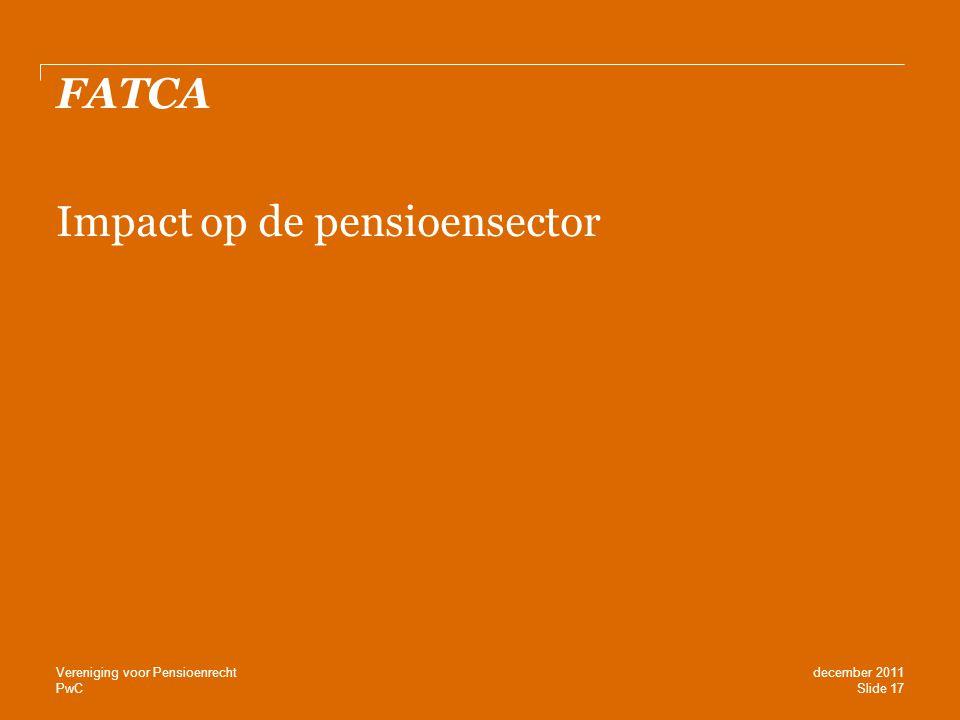 Impact op de pensioensector