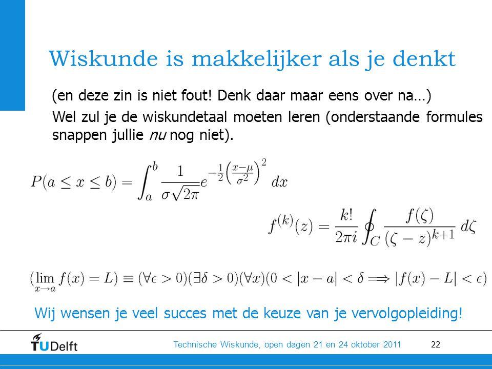 Wiskunde is makkelijker als je denkt