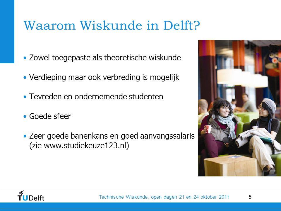 Waarom Wiskunde in Delft