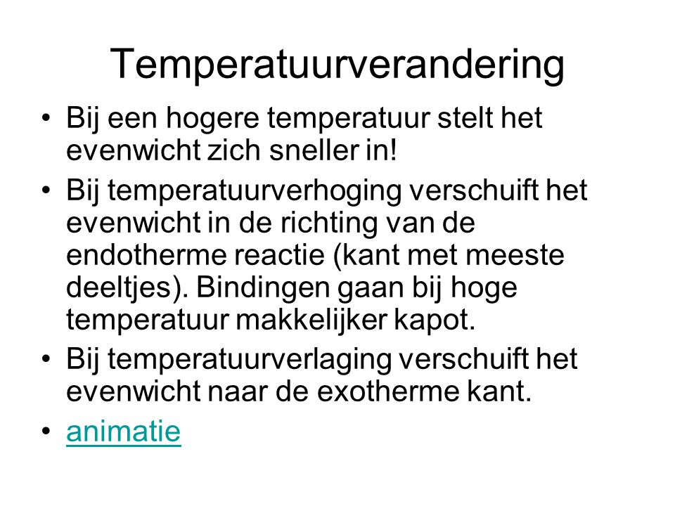 Temperatuurverandering