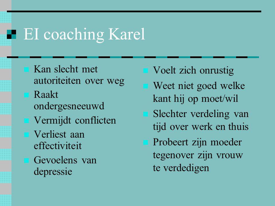 EI coaching Karel Kan slecht met autoriteiten over weg