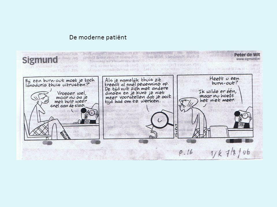 De moderne patiënt