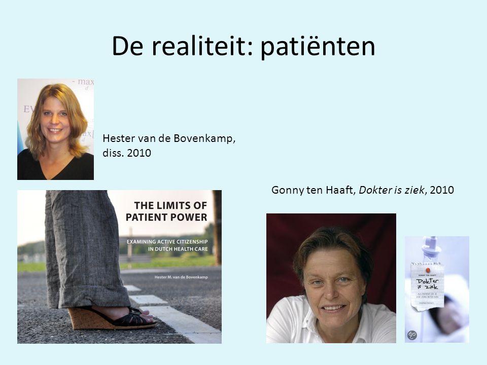 De realiteit: patiënten
