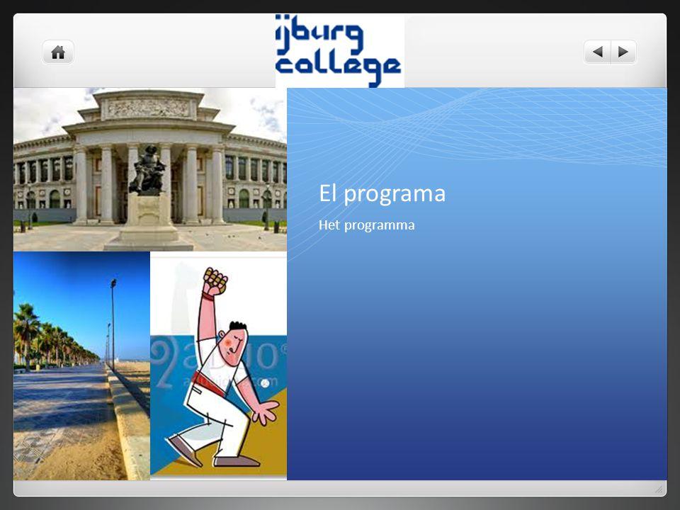 El programa Het programma