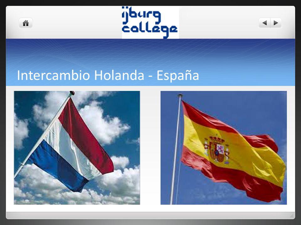 Intercambio Holanda - España
