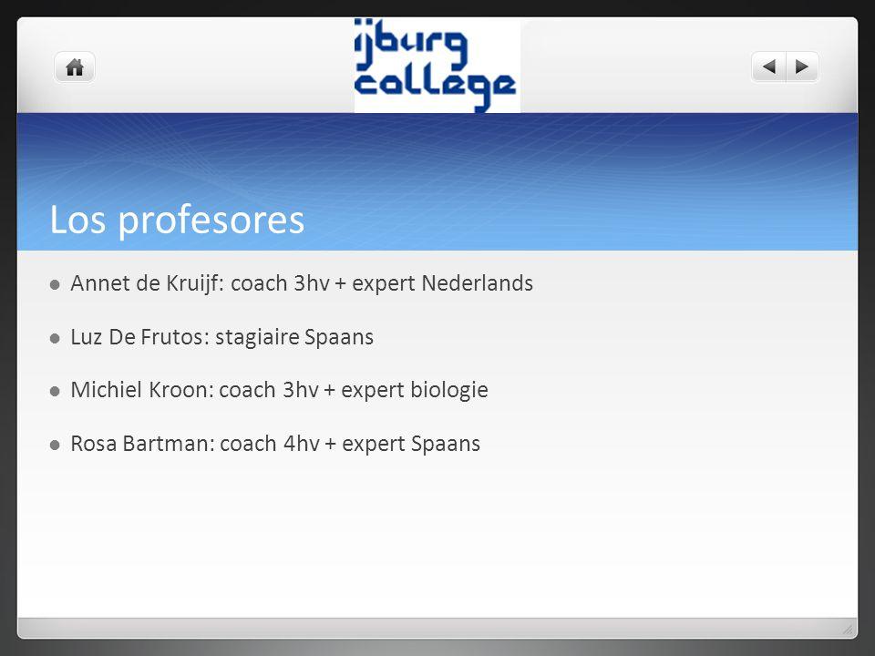 Los profesores Annet de Kruijf: coach 3hv + expert Nederlands