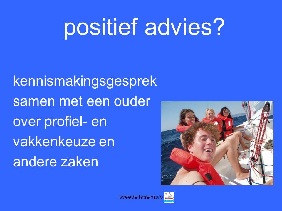 positief advies kennismakingsgesprek samen met een ouder
