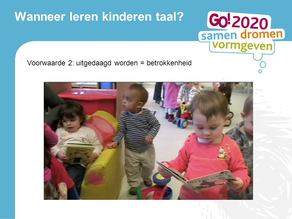 Wanneer leren kinderen taal
