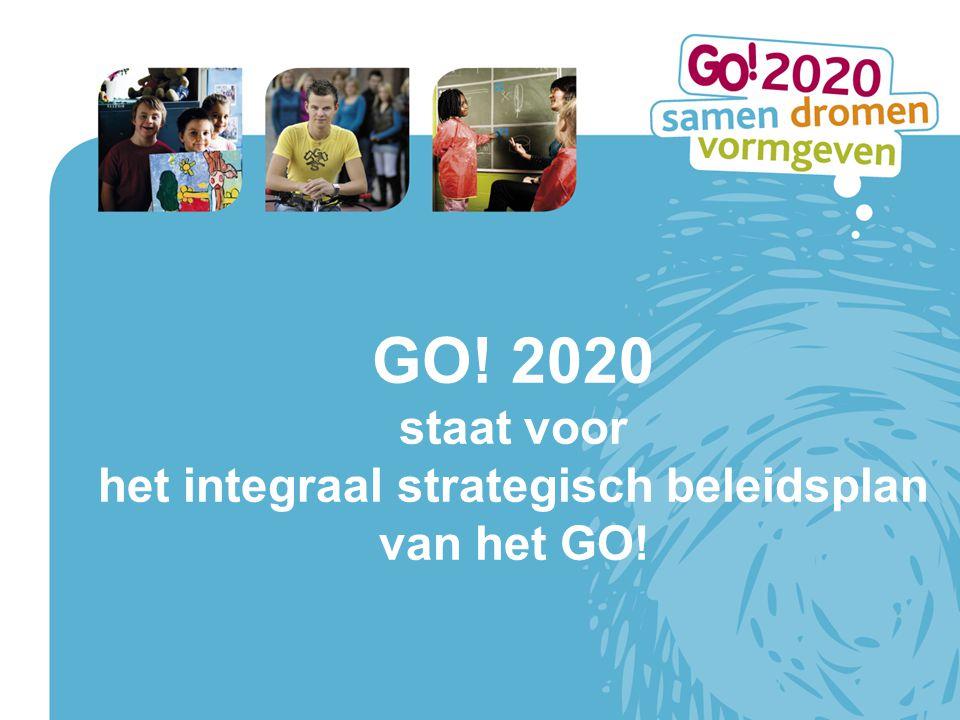 het integraal strategisch beleidsplan van het GO!