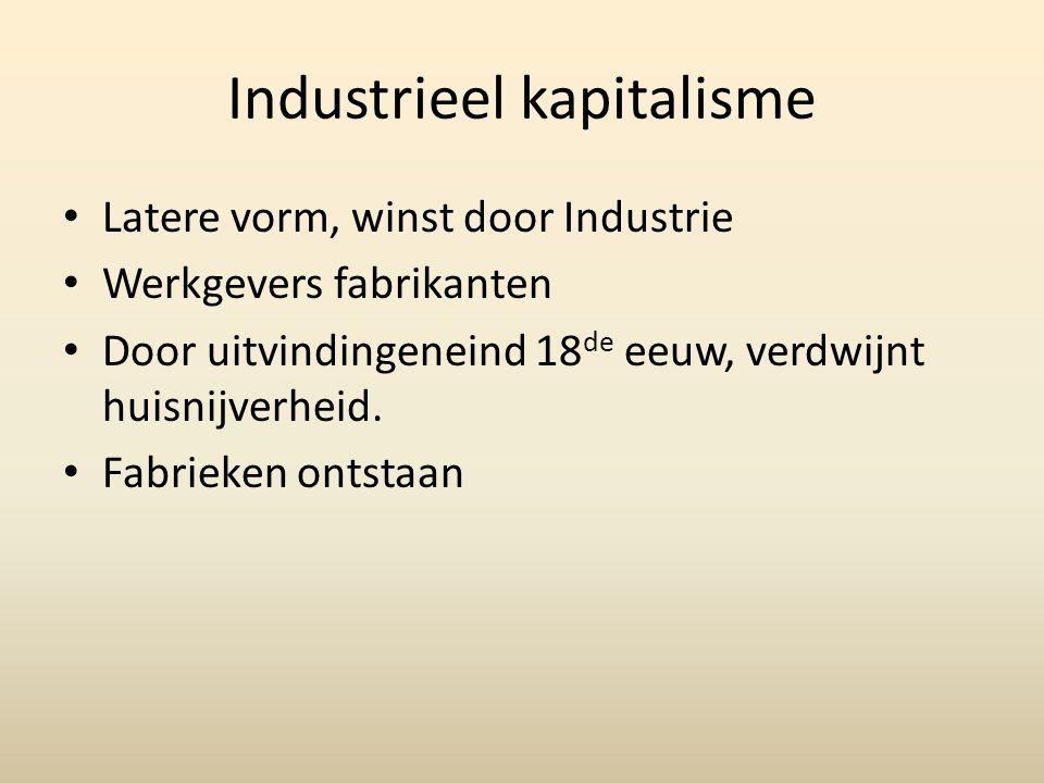 Industrieel kapitalisme