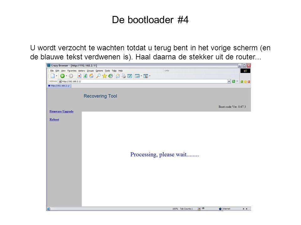 De bootloader #4