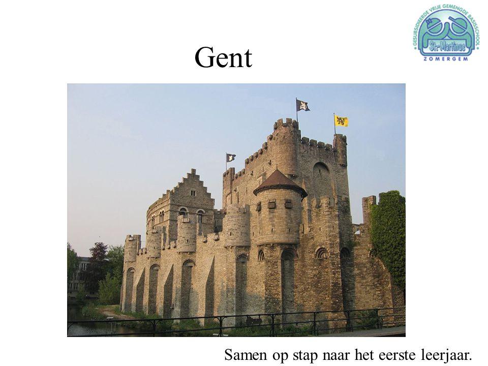 Gent Samen op stap naar het eerste leerjaar.