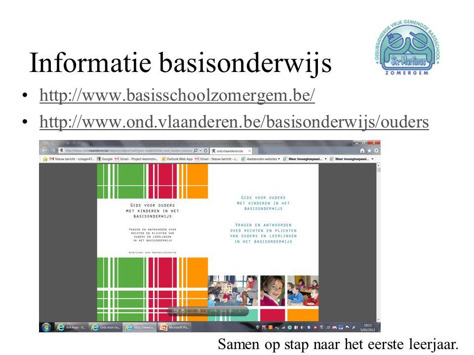 Informatie basisonderwijs