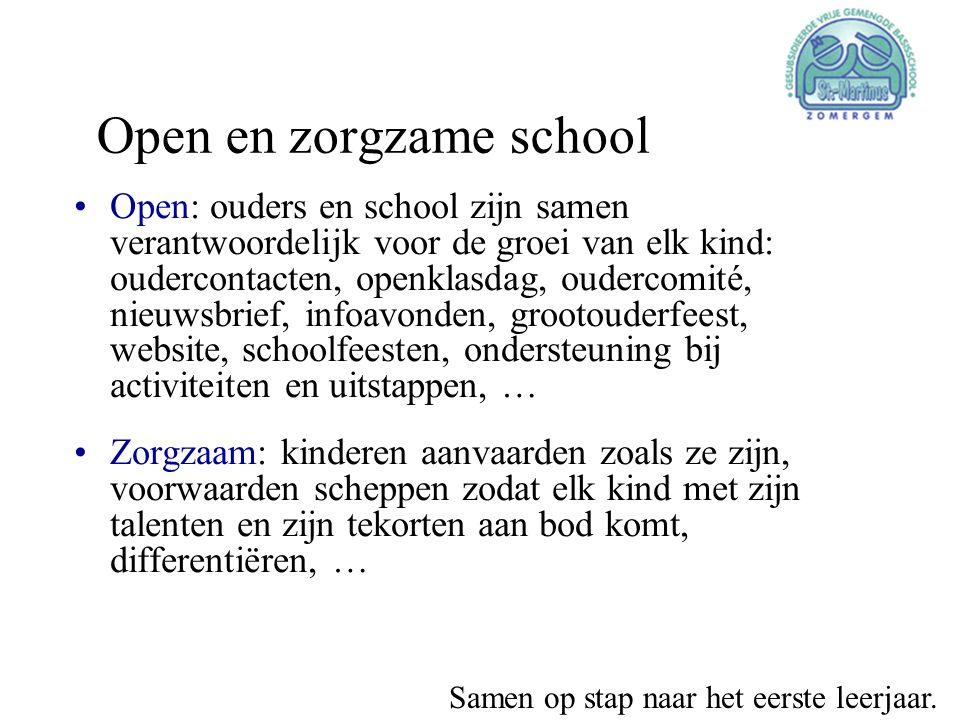 Open en zorgzame school