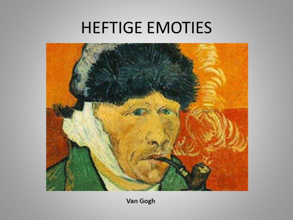 HEFTIGE EMOTIES Van Gogh