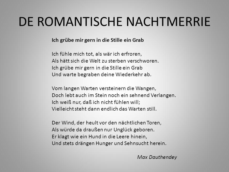 DE ROMANTISCHE NACHTMERRIE
