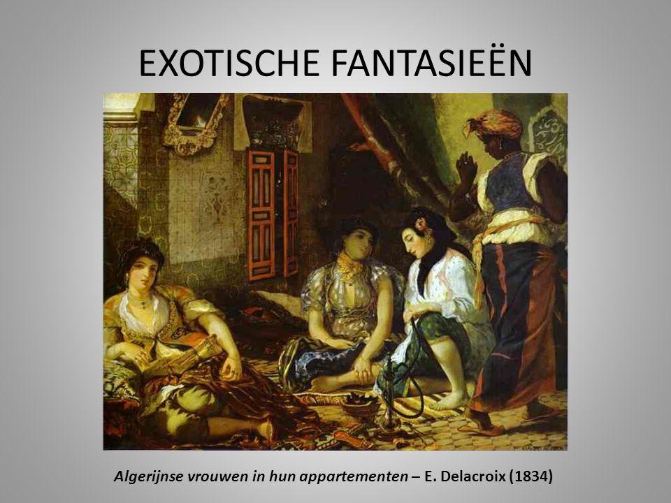 Algerijnse vrouwen in hun appartementen – E. Delacroix (1834)