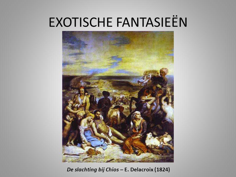 De slachting bij Chios – E. Delacroix (1824)