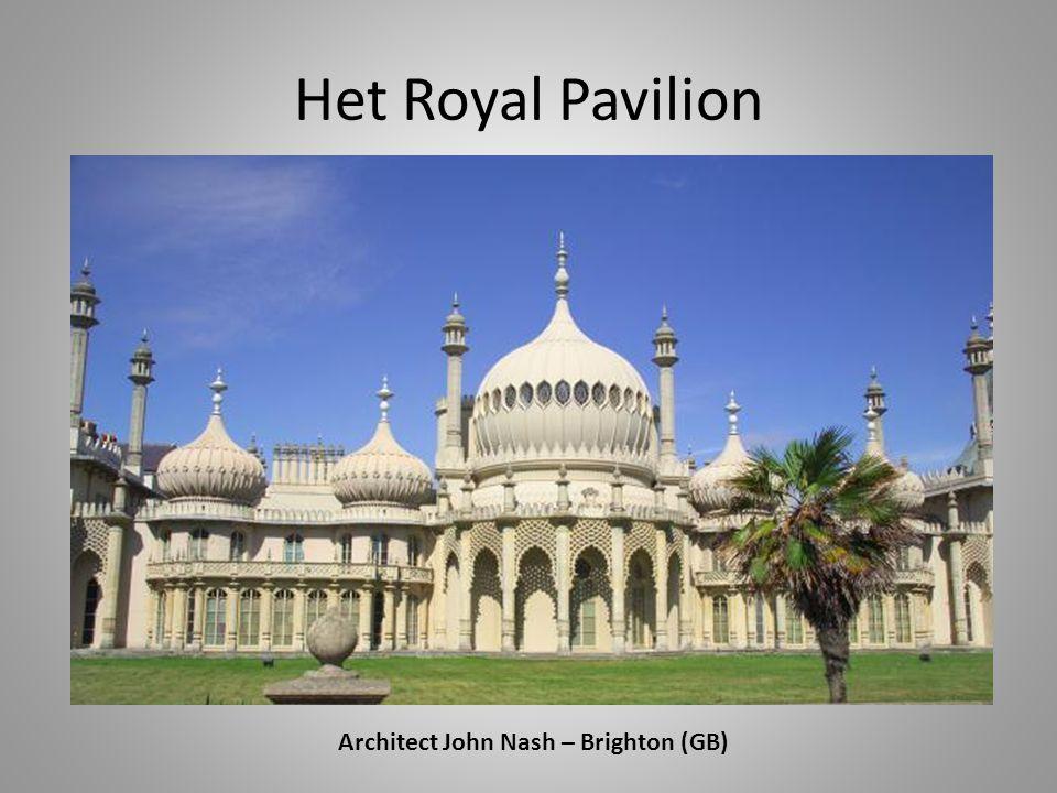 Architect John Nash – Brighton (GB)