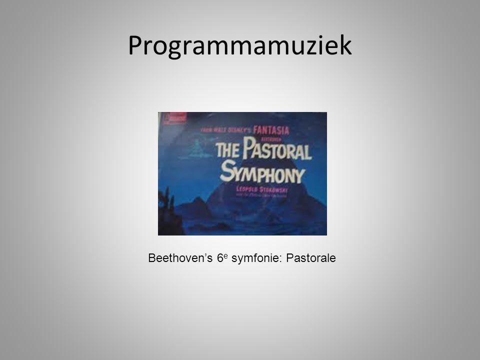 Beethoven's 6e symfonie: Pastorale