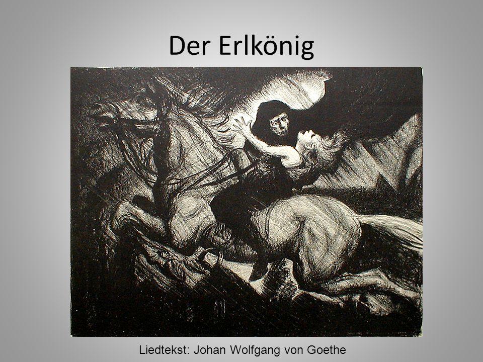 Liedtekst: Johan Wolfgang von Goethe