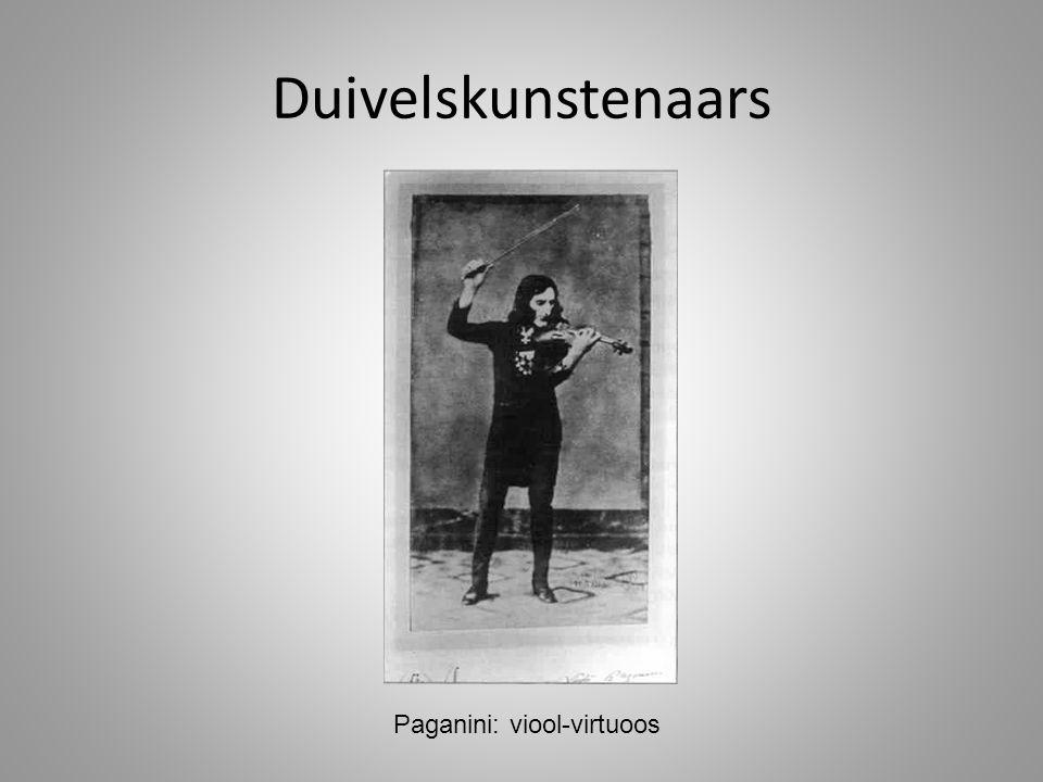 Paganini: viool-virtuoos