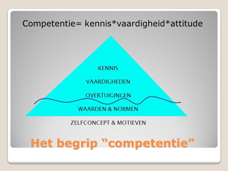 Het begrip competentie