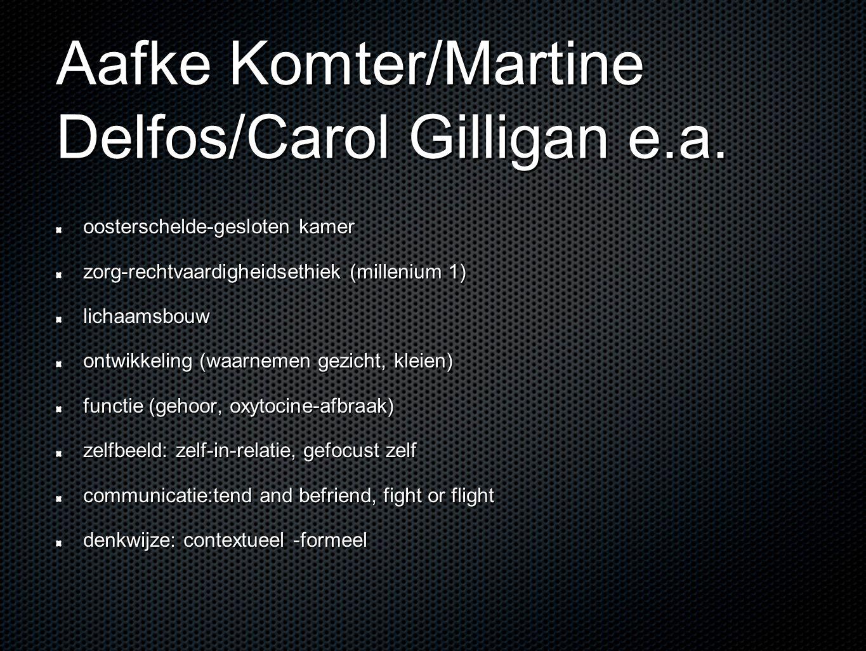 Aafke Komter/Martine Delfos/Carol Gilligan e.a.