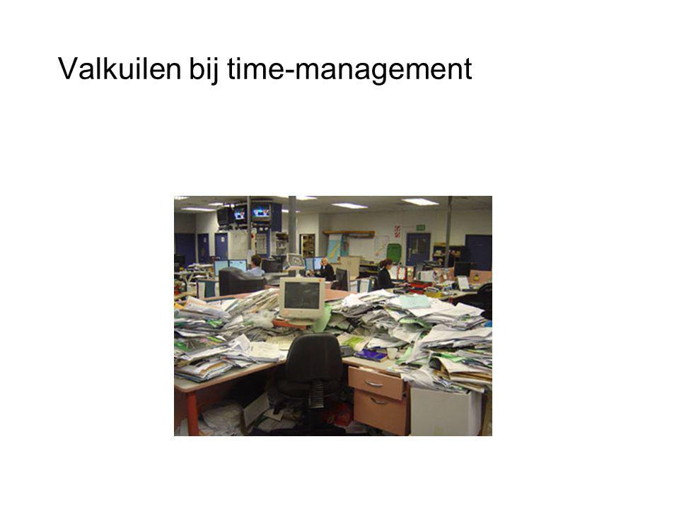 Valkuilen bij time-management