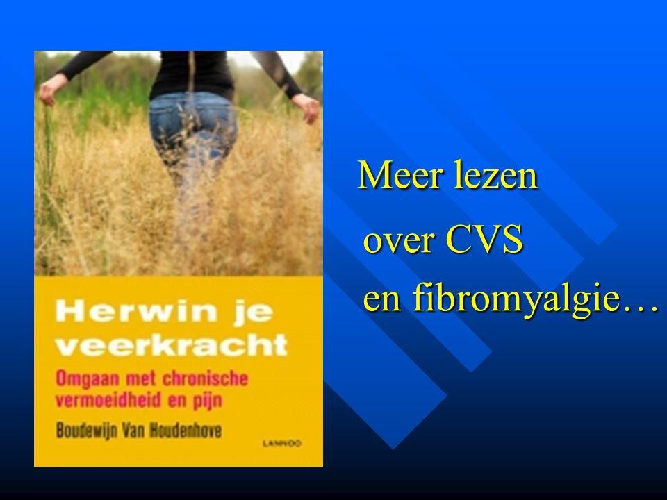 Meer lezen over CVS en fibromyalgie…