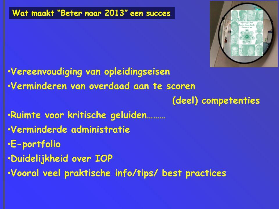 interne geneeskunde opleiding