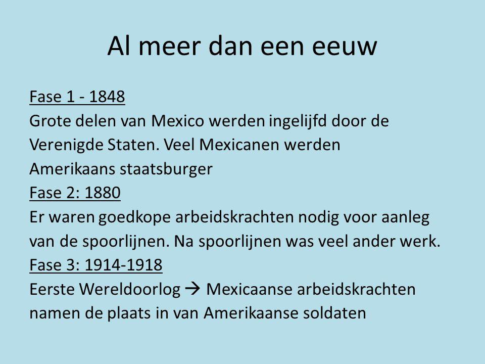 Al meer dan een eeuw Fase 1 - 1848