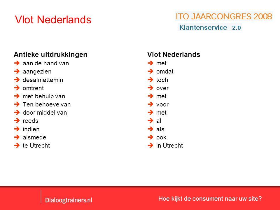 Vlot Nederlands Antieke uitdrukkingen Vlot Nederlands aan de hand van