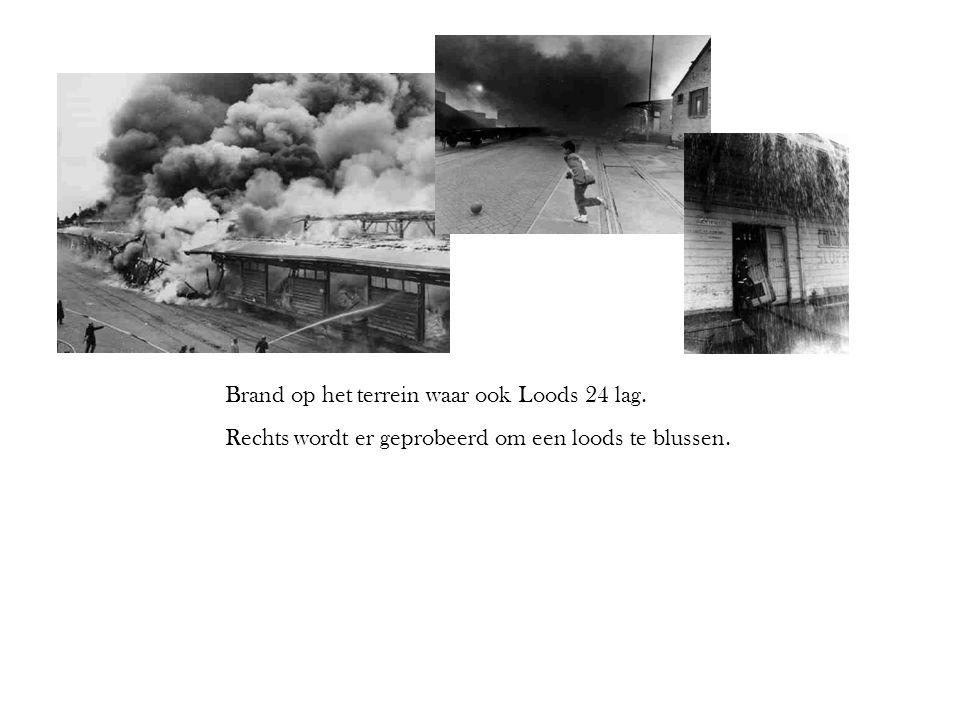Brand op het terrein waar ook Loods 24 lag.