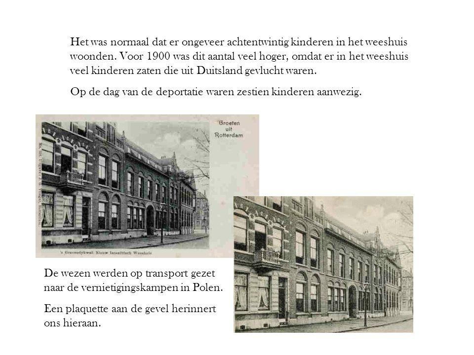 Het was normaal dat er ongeveer achtentwintig kinderen in het weeshuis woonden. Voor 1900 was dit aantal veel hoger, omdat er in het weeshuis veel kinderen zaten die uit Duitsland gevlucht waren.