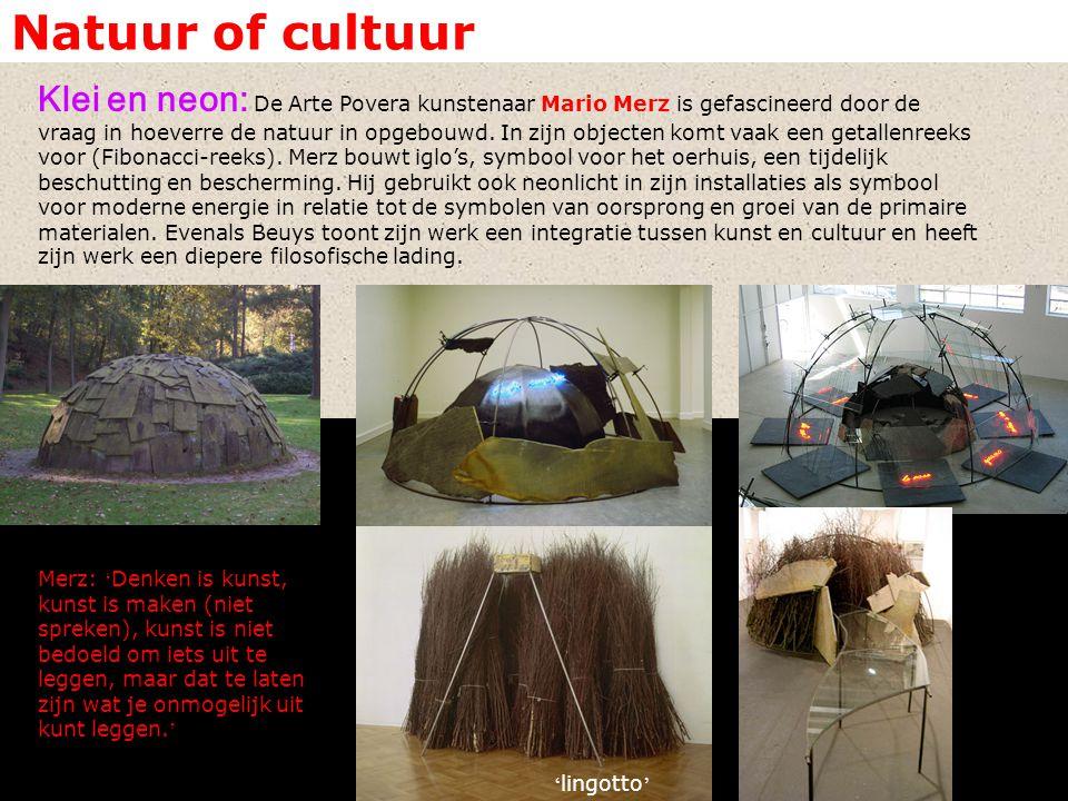 Natuur of cultuur