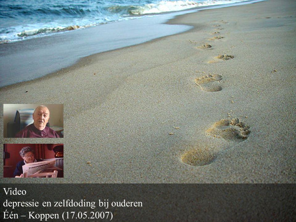 Video depressie en zelfdoding bij ouderen Één – Koppen (17.05.2007)