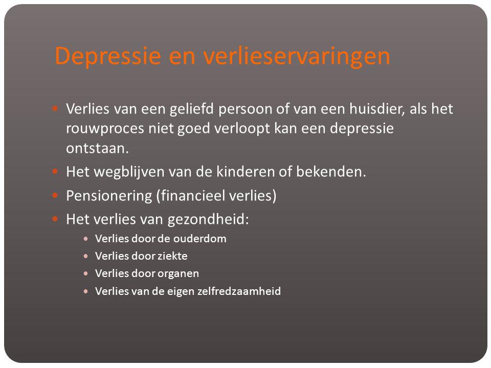 Depressie en verlieservaringen