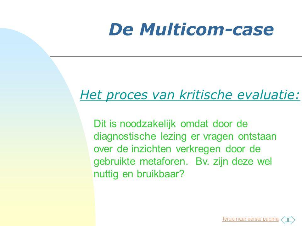 Het proces van kritische evaluatie: