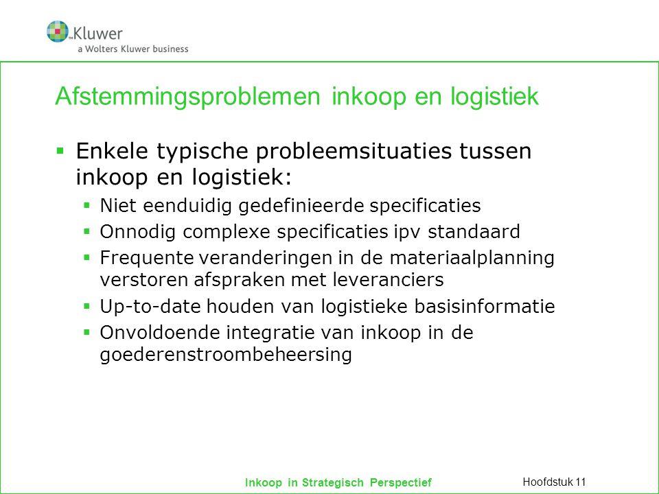 Afstemmingsproblemen inkoop en logistiek