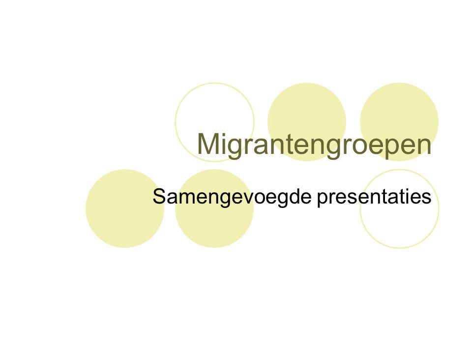 Samengevoegde presentaties