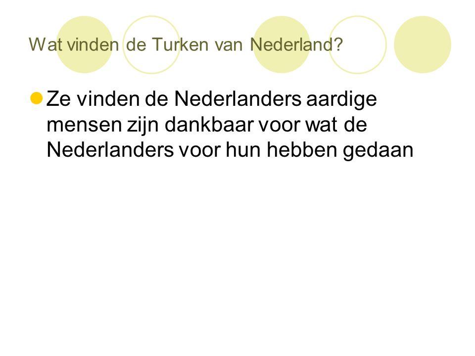 Wat vinden de Turken van Nederland