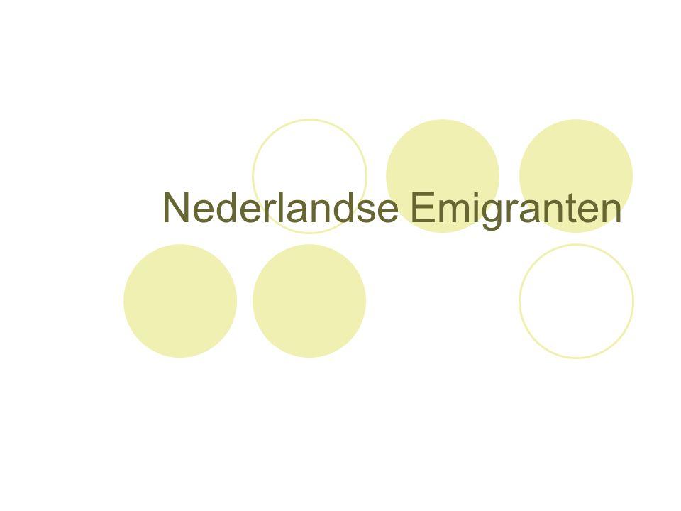 Nederlandse Emigranten
